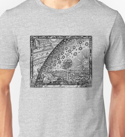Flammarion Engraving Transparent Unisex T-Shirt