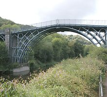The iron bridge, Ironbridge, Shropshire by JohnT