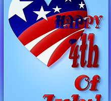 American Heart-4th of July by Lotacats