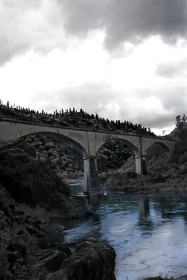 No Hands Bridge, Auburn CA by Alex Uvalle