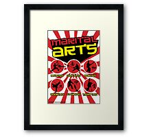 Marital Arts Framed Print