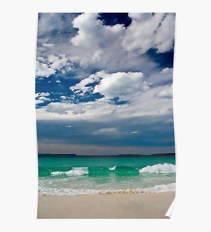 hyams beach - australia Poster