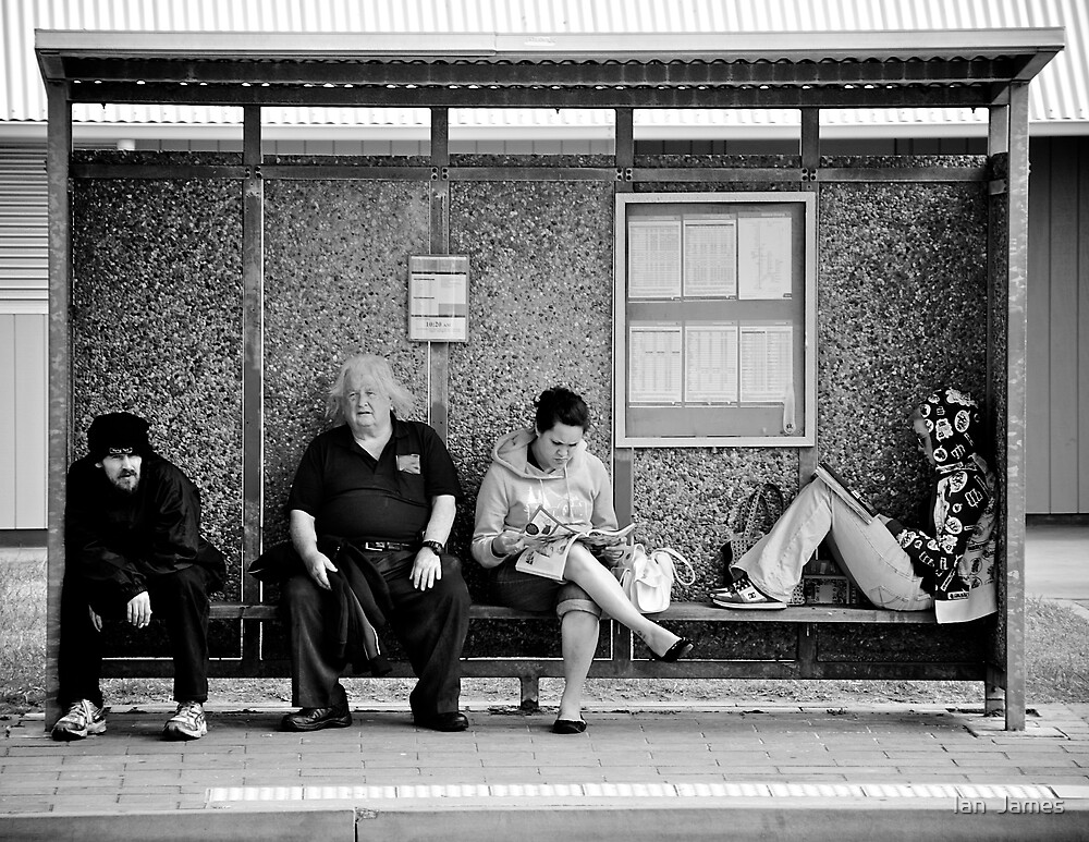 Waiting - Down under by Ian  James