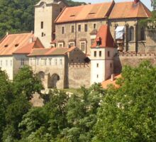 a vast Czech Republic landscape Sticker