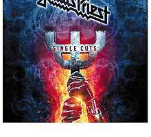 judas priest single cut by larvasutra
