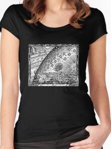 Flammarion Engraving Women's Fitted Scoop T-Shirt