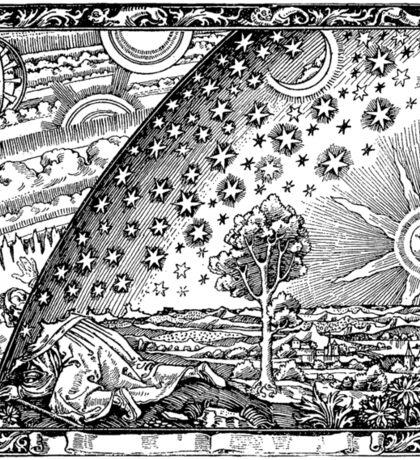 Flammarion Engraving Sticker