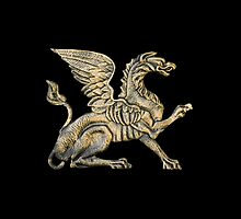 Winged lion by igorsin