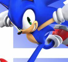 Super Smash Bros Sonic 3ds/wii u  Sticker