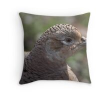 Female Pheasant  Throw Pillow