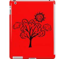 Sunshining Day (Black print) iPad Case/Skin