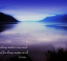Nothing Matters Very Much by Doug Keech