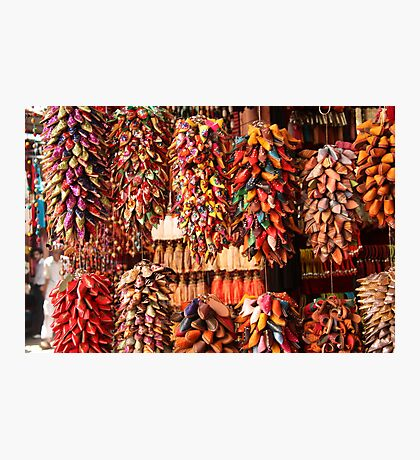 Slippers anyone? (Marrakech, Morocco) Photographic Print