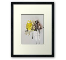 Hoot With Me Framed Print