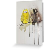 Hoot With Me Greeting Card