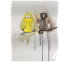 Hoot With Me Poster