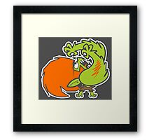 Powerpuff fighter IV Framed Print