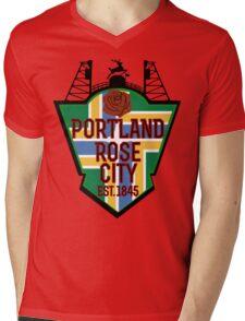 Rep Your City: Portland Mens V-Neck T-Shirt