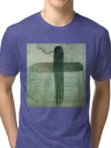 On The Cross - Romans 8 Tri-blend T-Shirt