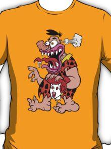 Freaked Out Flintstone T-Shirt