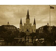 St Louis Cathedral - New Orleans  Photographic Print
