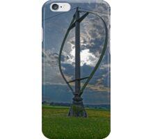 Darrieus wind rotor, Heroldstatt iPhone Case/Skin