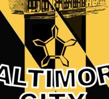 Rep Your City: Baltimore Sticker
