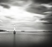 Port Melbourne Lighthouse by Melinda Kerr