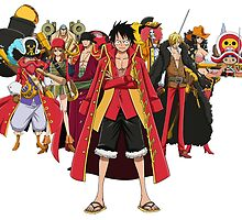 one piece by larvasutra