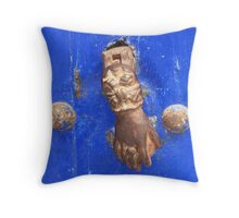 Knock on wood (Essaouira, Morocco) Throw Pillow
