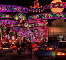 The Festival of Light DOF by Larry Lingard-Davis