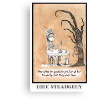 Dirk Strangely's ALICE Canvas Print