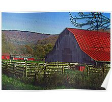 Boxley Valley Farmstead Poster