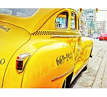 Taxi Photographic Print