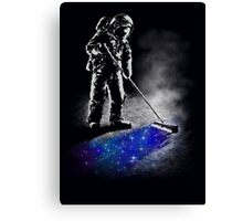 Stardust Sweeper Canvas Print