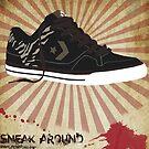 shoe advertisment by DesignStrangler