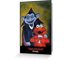 Dirk Strangely's MUPPET'S OF THE DAMNED Greeting Card