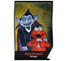 Dirk Strangely's MUPPET'S OF THE DAMNED Poster