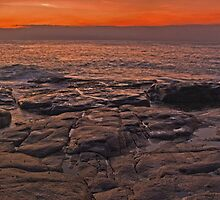 bawley rocks - bawley point australia by doug riley