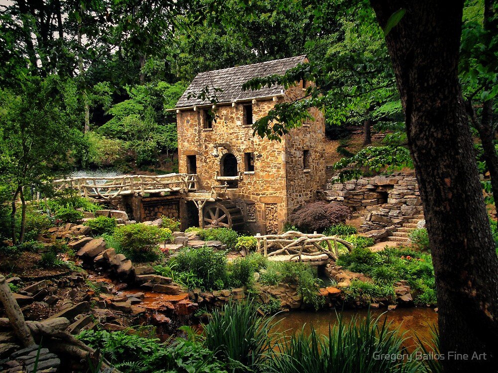 The Old Mill  by Gregory Ballos | FineArtScapes.com