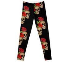 Skulls Roses Leggings