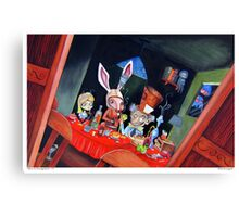 Dirk Strangely's ALICE IN STRANGELAND Canvas Print