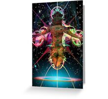 Space Time 221 Greeting Card