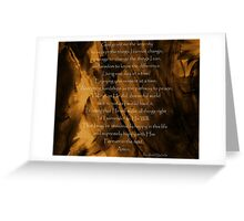 The Serenity Prayer - Abstract painting background Greeting Card