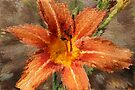 Extruded Orange Lily by Michelle Cocking