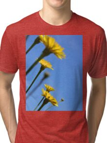 Dancing With The Flowers Tri-blend T-Shirt