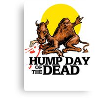 Hump Day of the Dead Canvas Print