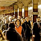 """""""Boston Commuters"""" - Coming Off the """"T"""" - *Featured by Jack McCabe"""