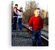 His, Mine, Ours Canvas Print