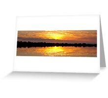 Pacific Sunrise - Bargara - Bundaberg Greeting Card